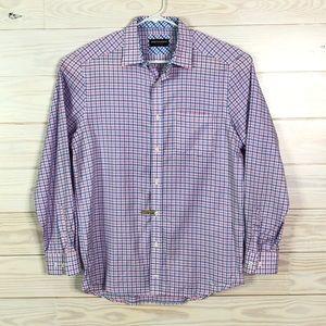Johnston & Murphy Men Button Down Dress Shirt